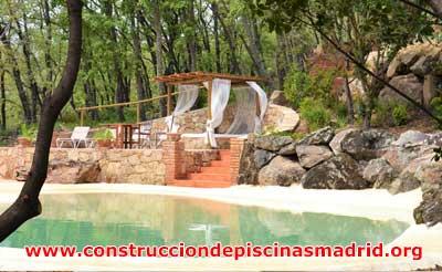 Construcción Piscinas de Arena Madrid
