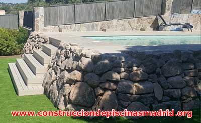 Construcción Piscinas de Obra de Gresite Madrid